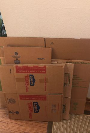 Free moving boxes for Sale in Pantego, TX