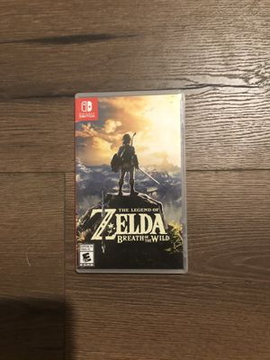 The Legend Of Zelda Breathe of The Wild for Sale in Palm Bay, FL