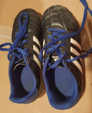 little kids Adidas soccer cleats size 13 for Sale in Northfield, OH