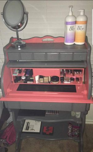 Roll top desk / vanity for Sale in Wichita, KS