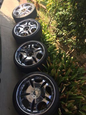 """21"""" LOWENHART LD1 on DUNLOP ZRated tires for Sale in San Diego, CA"""