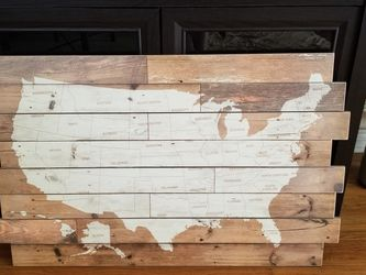 Big USA Map Wall Decor for Sale in Long Beach,  CA