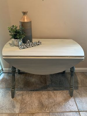 Farmhouse drop leaf table and chairs for Sale in Azusa, CA