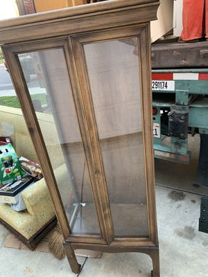Antique China cabinet $40 for Sale in Redwood City, CA