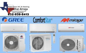 Ductless mini split systems for Sale in Pasadena, TX