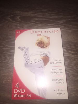 $2 workout DVD - salsa, jazz, hip-hop, belly dancing for Sale in Derwood, MD