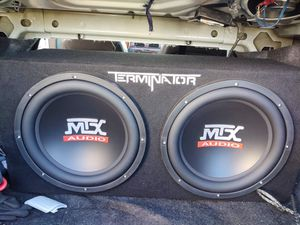 "Terminator subwoofer ""12 for Sale in Tucson, AZ"