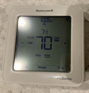 Honeywell z-wave pro series thermostat for Sale in Tampa, FL