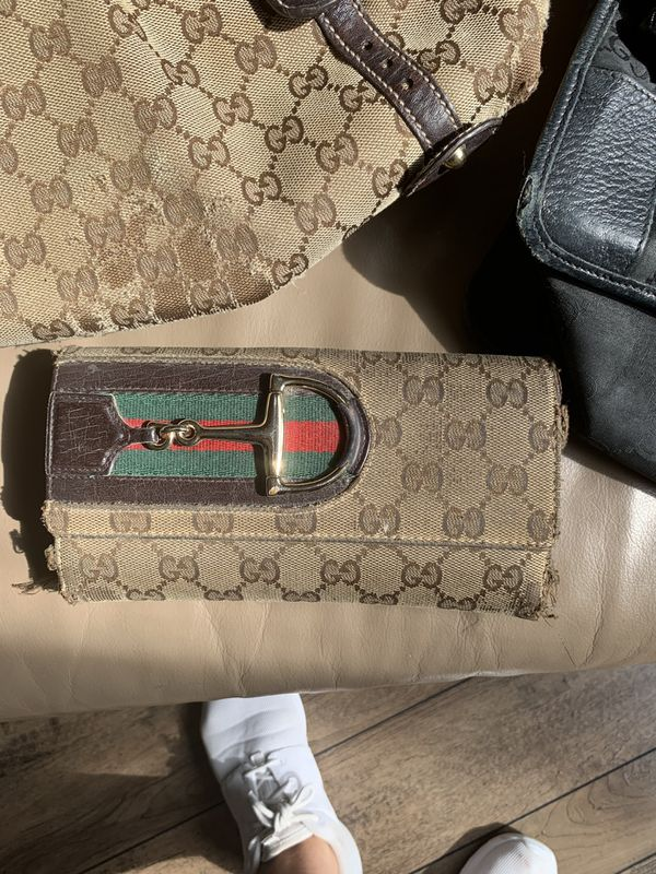 Authentic Gucci and designer bags