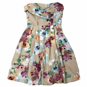 eShakti Floral Strapless Dress - Size XS / 2 for Sale in East Hartford, CT