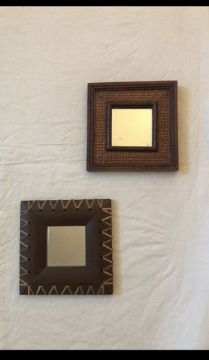 2 Small Wall Mirrors for Sale in Fontana, CA