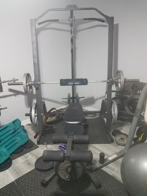 Marcy weight rack and bench ( read description) for Sale in Snellville, GA