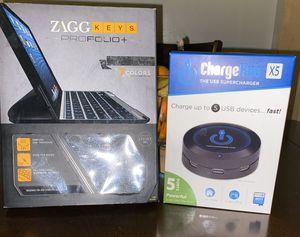 Wireless Ipad Keyboard case + Charging Hub for Sale in Inglewood, CA
