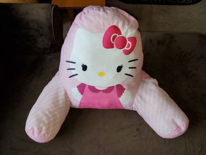 Hello kitty pillow back rest for Sale in Lake Stevens, WA
