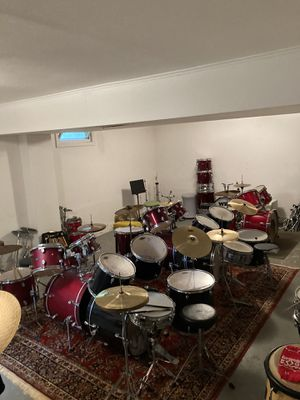 BASEMENT FULL OF DRUMS for Sale in New Canaan, CT