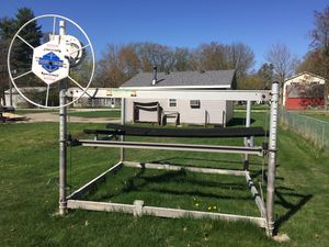 Shorestation boat lift at Bass Lake $950.00 for Sale in Downers Grove, IL