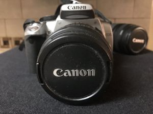 Canon Digital Rebel XT DSLR Camera with EF-S 18-55mm f3.5-5.6 Lens (Grey) (OLD MODEL) for Sale in Orlando, FL