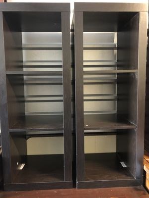 Two 3 Cubes Vertical Organizer Shelf. 44.5 x 16.5 x 15.5. Nice for Sale in Brentwood, NC