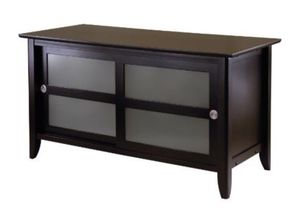 Brown wooden tv stand new in box for Sale in Laurel, MD