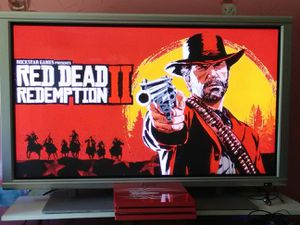 RDR2 and Spider-man games with Mitsubishi 50inch monitor with HDMI port for Sale in Washington, DC