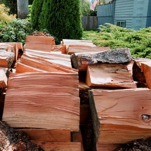 Dry firewood seasoned warm heat instead of cold from wet wood for Sale in Tacoma, WA