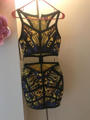 Cute blue and yellow dress size S for Sale in Falls Church, VA
