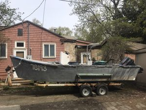 23' Skiff, outboard and Trailer for Sale in Anchorage, AK