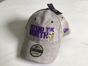 "Minnesota Vikings ""Defend The North"" New Era Adjustable Ballcap for Sale in Goodlettsville, TN"