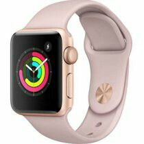 Apple watch series 2 rose gold w/blue band for Sale in Milwaukie, OR