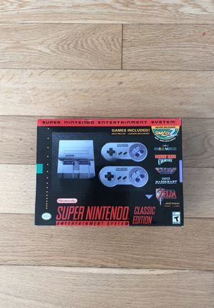 Super Nintendo Classic. Brand New, never opened. for Sale in New York, NY