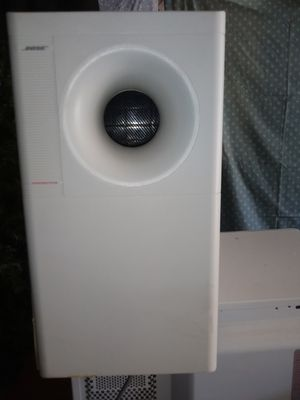 Boss Acoustimass Home Theater SYSTEM W/5 Double Cube Speakers for Sale in The Bronx, NY