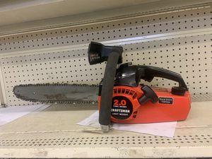 Craftsman Lightweight Chainsaw for Sale in Austin, TX