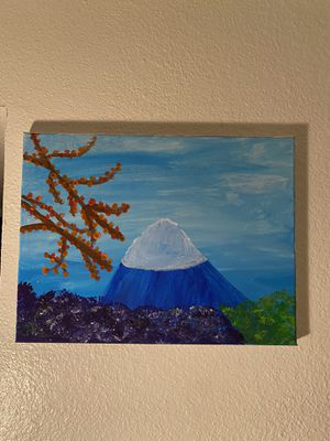mountain painting that took time❤️ for Sale in Phoenix, AZ
