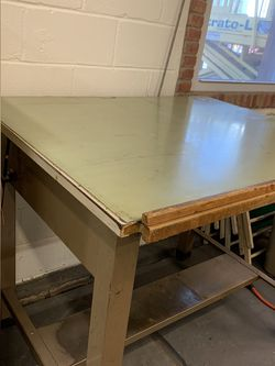 Industrial/Commercial Drafting Table for Sale in Farmingdale,  NJ