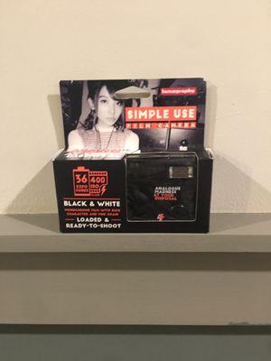 Black & White Disposable Camera for Sale in Franklin, TN