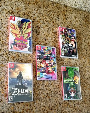 Brand NEW Sealed Nintendo Switch games (READ THE DESCRIPTION PLZ) for Sale in Riverside, CA