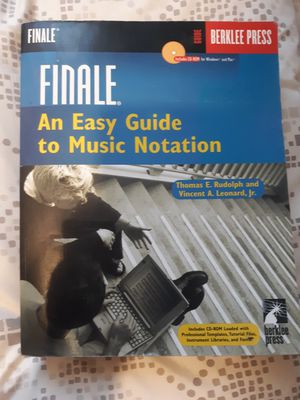 Finale: music notation for Sale in Los Angeles, CA