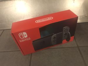 Nintendo Switch (Gray V2, bran new, sealed) for Sale in Seattle, WA
