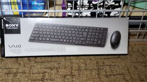Sony IT VAIO Wireless Keyboard and Mouse Set - Black (VGP-WKB13) for Sale in Olympia, WA