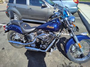 2001 Indian scout 100 year anniversary of Indian motorcycle for Sale in Woodbridge Township, NJ