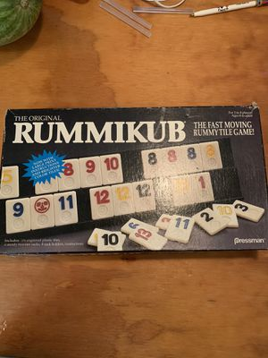 Fast Moving Rummy Tile-Rummikub Game for Sale in Bradenton, FL