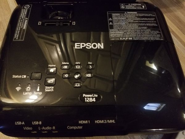 Epson PowerLite 1284 LCD Projector NEW