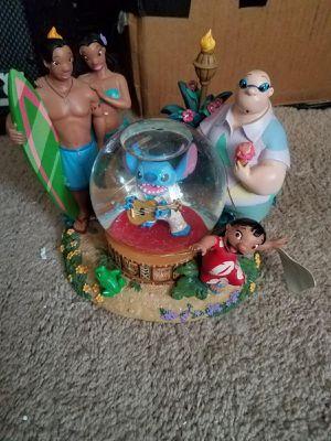 Disney stitch snowglobe with box for Sale in Crest Hill, IL