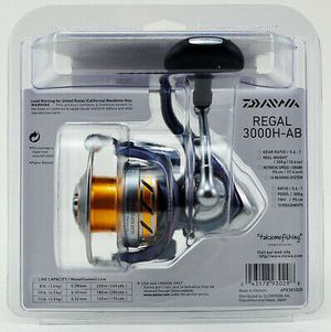 2 Daiwa Regal 3000H-AB 5.6:1 spinning fishing reel 10 ball bearings new in package for Sale in Litchfield Park, AZ