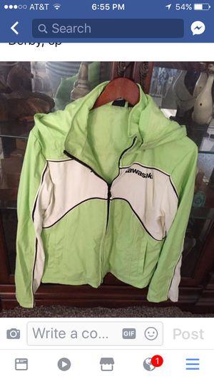 Ladies Kawasaki motorcycle jacket for Sale in Derby, KS