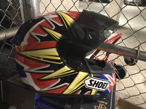 Shoei helmet with 5 screens for Sale in Fairfax, VA