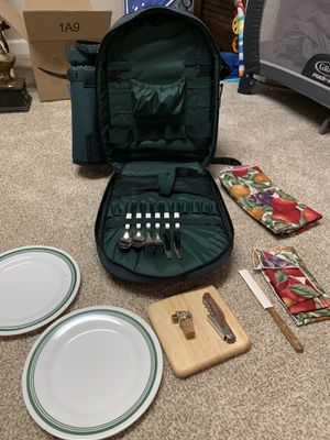 Picnic backpack set for Sale in Columbus, OH