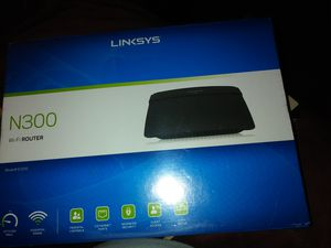 Linksys n300 WiFi router for Sale in Clearwater, FL