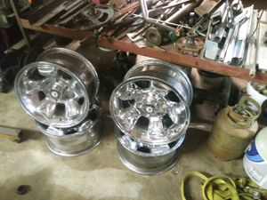 Racing rims 16in 6luggs great for chevy for Sale in South Houston, TX