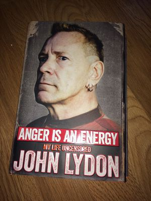 """""""Anger is an Energy"""" by John Lydon for Sale in Grosse Pointe Park, MI"""
